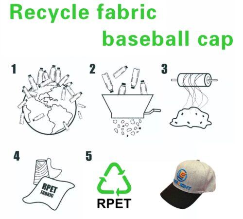 rPET baseball cap
